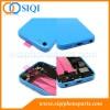 iphone 5Cのための後部ハウジング、iphone 5Cのための取り替えカバー、裏表紙iphone 5C、小さい部品が付いている裏表紙、iphoneのための青い裏表紙