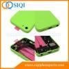 asamblea verde vivienda espalda, contraportada verde para iPhone 5C, cubierta 5c iphone, iphone reemplazo 5c vuelta, el reemplazo para el iPhone 5C de la contraportada