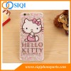 Cas de TPU en gros, cas de téléphone portable, cas de TPU Bonjour kitty, cas de TPU pour iPhone, cas de Chine TPU