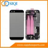 iphone 5s arrière de remplacement, BackCover pour iphone 5s, iphone 5s remplacement de logement, iphone 5s couvrent cas, boîtier arrière pour iphone 5s