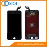 أسود لل6S فون زائد LCD, مخزون آيفون 6S، اي فون 6S, بالإضافة إلى الشاشة، ل6S بالإضافة إلى إصلاح LCD, 6S بالإضافة إلى استبدال الشاشة