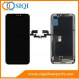 Remplacement pour l'affichage à cristaux liquides d'iPhone X, écran d'iPhone X, affichage d'affichage à cristaux liquides d'iPhone X, réparation d'affichage à cristaux liquides d'iPhone X, remplacemen