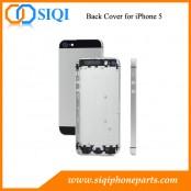 iPhone 5用背面カバーは、バックiPhone 5交換のために、iPhone 5、iPhone 5住宅、バックiPhone 5交換用のカバー