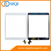 Para el ensamblaje del digitalizador del iPad mini, reparación de la pantalla táctil del iPad mini, montaje de la pantalla táctil del ipad al por mayor, pantalla del digitizador del iPad China, pantalla táctil del iPad mini