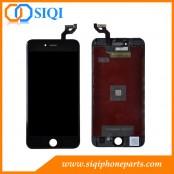 Negro para iPhone 6S plus LCD, Acciones para iPhone 6S, iPhone 6S plus pantalla, para 6S plus LCD reparación, 6S plus reemplazo de pantalla