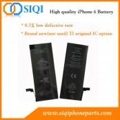 iPhone 6 batterie, remplacement de la batterie de l'iPhone 6, réparation de la batterie de l'iPhone 6, fournisseur de la batterie de l'iPhone 6, usine de la Chine pour la batterie de l'iPhone 6