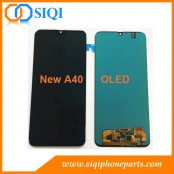Écran Samsung A40, réparation d'écran Samsung A405, écran Samsung A40 OLED, remplacement d'écran SS A405f, correction d'écran Samsung A40