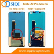Écran Huawei Mate 20 Pro, écran Mate 20 pro original, écran Mate 20 Pro avec cadre, écran Mate 20 Pro Chine, écran Mate 20 pro AMOLED