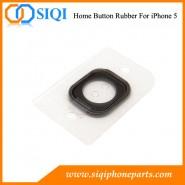 Goma para botón de inicio iphone 5, caucho botón de inicio, la sustitución del caucho botón de inicio, para la reparación de goma botón de inicio, el caucho para el iPhone 5