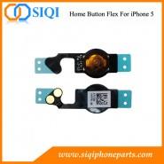 flex hogar para iphone 5, iphone 5 Botón vivienda de reemplazo flex, botón de inicio de reemplazo de cable flexible, iphone cable del botón de 5 hogar, hogar flex iphone 5