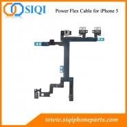 la puissance sur le câble flex pour iPhone, la puissance de remplacement flex pour iPhone 5, puissance câble flex iPhone, remplacer le câble flexible d'alimentation, câble flex iPhone