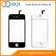 Écran tactile pour iphone 4S, remplacement de l'écran tactile, réparation de l'écran tactile pour iphone 4S, numériseur pour iPhone 4S, numériseur d'écran tactile