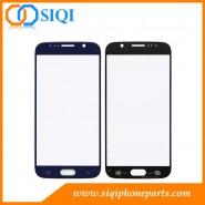 Verre de remplacement pour Galaxy S6, Samsung Galaxy réparation verre S6, Bleu lentille de verre pour les S6, lentille en verre de remplacement pour Samsung, le Galaxy S6 remplacement de verre