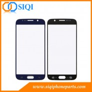 Reemplazo de vidrio para Galaxy S6, Samsung Galaxy S6 Reparación de vidrio, Lente de vidrio azul para S6, Lente de vidrio para reemplazo de Samsung, Reemplazo de vidrio Galaxy S6