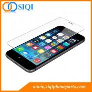 Verre trempé protecteur d'écran pour iPhone, commerce de gros de l'écran, l'iPhone 6 écran protecteur, protecteur d'écran iPhone 6S, verre trempé protecteur iPhone