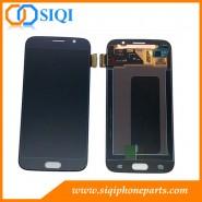 LCD الأسود لسامسونج S6, سامسونج S6 الشاشة, شاشة غالاكسي S6, سامسونج استبدال الشاشة, و إصلاح S6 عرض LCD