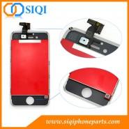 iPhone 4S écran de remplacement, remplacer iphone 4s écran, écran blanc pour l'iphone 4s, en remplacement de l'écran de l'iphone 4s, LCD de remplacement pour l'iphone 4s