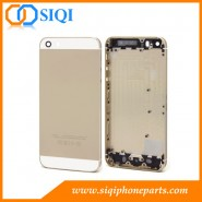 バックハウジングの交換、5sリアハウジング、iphoneのハウジングの交換、バックカバーのiphone 5s、iphone 5の交換用ハウジング
