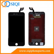 Negro para iPhone 6S más LCD, Gradas para iPhone, iPhone 6S 6S más pantalla, para 6S, más la reparación LCD, 6S más reemplazo de la pantalla
