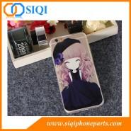 TPUモバイルケース、iPhone用ケース、iPhone 6S用モバイルケース、女の子用TPUケース、TPU電話ケース