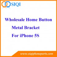 Soporte de botón de inicio, marco de botón de inicio de iPhone 5s, soporte de metal de botón de inicio de iphone, soporte de botón de metal de inicio 5s, soporte de botón de inicio para 5s