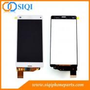 Pantalla LCD para Sony compacta Z3, LCD para Sony Xperia Z3 mini, calidad AAA para pantalla LCD de Sony, al por mayor para Sony Z3 pantalla mini LCD, Sony Z3 compacta digitalizador LCD