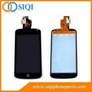 شاشة LCD لجوجل نيكزس 4, شاشة لجهاز Nexus 4 E960, شاشة LCD لشركة إل جي نيكزس 4, قطع الغيار لأجهزة Nexus 4, شاشات الكريستال السائل لجوجل E960