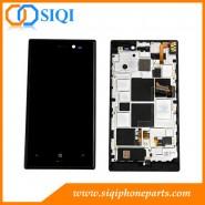 Pantalla LCD original para Lumia 928, Nokia Lumia 928, LCD Nokia Lumia 928, módulos LCD Nokia Lumia 928, Nokia Lumia 928 LCD con marco