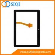 Pantalla táctil para la galaxia P5100, el tacto de reparación para Samsung P5100, pantalla táctil de la tableta de Samsung, digitalizador para Samsung P5100 tacto, el reemplazo del tacto para Samsung