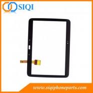 شاشة تعمل باللمس لـ Samsung Tab 3 P5200، Wholesale Samsung P5200 touch، محول الأرقام لجهاز Samsung tablet P5200، لإصلاح اللمس Samsung P5200، شاشة التحويل الرقمي Samsung P5200