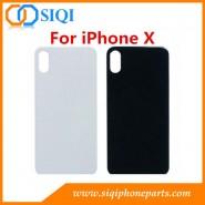 iPhone X verre arrière, iPhone X couverture arrière, iPhone X couverture de la batterie, iPhone X boîtier arrière, iPhone X verre arrière avec CE