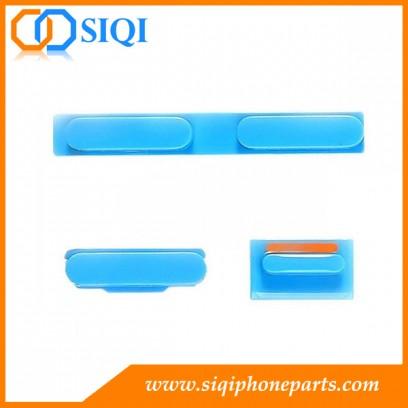 Boutons latéraux pour iphone, Silent Switch iphone 5C, bouton latéral pour l'iphone 5C, côté touches iphone, pour remplacer le bouton latéral de l'iphone