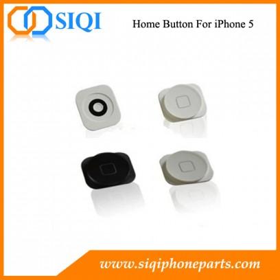 bouton d'accueil pour iPhone, iPhone bouton d'accueil de remplacement, remplacer pour l'iphone 5 bouton d'accueil, touche d'accueil pour iPhone 5, pièces de rechange pour le bouton d'accueil