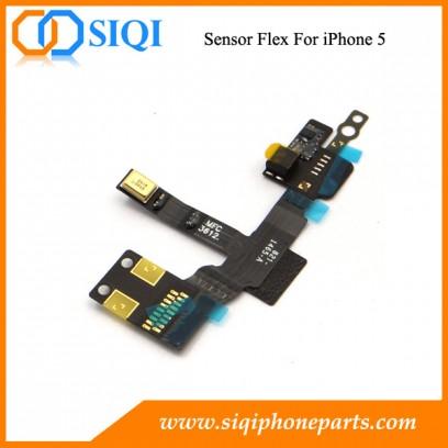 Sensor de repuesto flex cable, oferta especial para flexión del sensor, iphone 5 sensor, para el iphone 5 sensor de cambio de flexión, flexión del sensor para el iphone 5