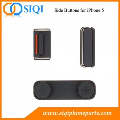 Boutons latéraux pour iphone 5, commutateur silencieux pour iphone 5, commutateur latéral pour iphone 5, touches latérales iphone, pour remplacer le bouton latéral iphone