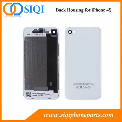 Coque arrière pour iPhone, Réparation de coque arrière pour iPhone 4S, Remplacement pour iPhone Coque arrière 4S, iPhone 4S Coque arrière, Coque arrière pour iPhone