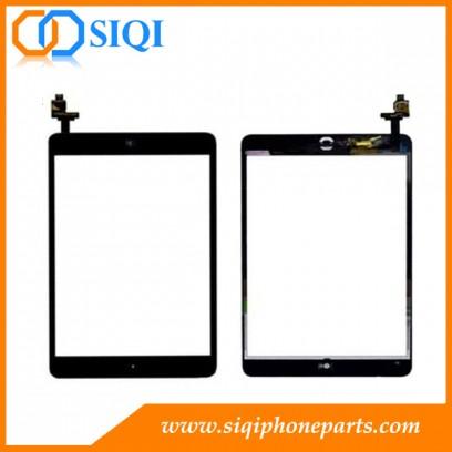 iPad Mini pantalla táctil de China, para el iPad de reemplazo montaje del digitizador, al por mayor pantalla del iPad, la pantalla táctil para el iPad mini, iPad Mini toque negro reparación de la pant