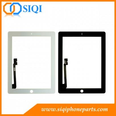 Écran Digitizer pour iPad 3, Le nouvel écran tactile iPad, numériseur iPad 3, Écran tactile en gros pour iPad 3, Écran tactile pour Chine