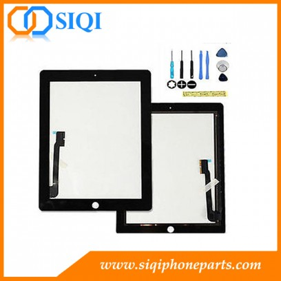 Touch screen for iPad 4, digitizer iPad 4 repair, iPad 4 screen replacement, iPad 4 digitizer special offer, replace for iPad 4 touch