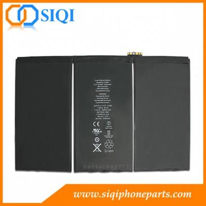 Batterie pour Apple iPad, Batterie de remplacement pour iPad 3, Réparation pour batterie iPad 3, Vente en gros de batterie pour Apple iPad 3, Grossiste en Chine pour batterie iPad