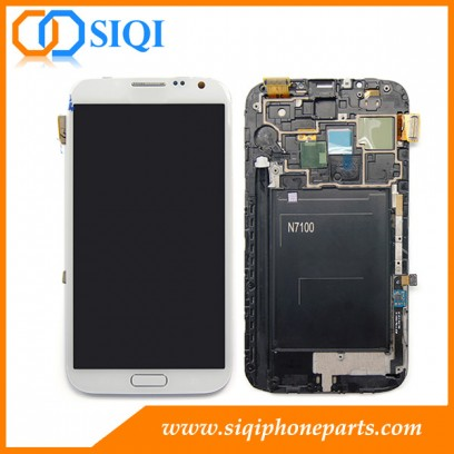 pour Galaxy Note 2 écran LCD, écran LCD Samsung, écran Samsung de galaxie, écran pour Samsung Galaxy, écran LCD de gros