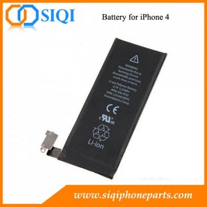Batterie pour iPhone 4, iPhone OEM batterie, batterie de l'iPhone en Chine, gros iPhone batterie, remplacement de la batterie iPhone