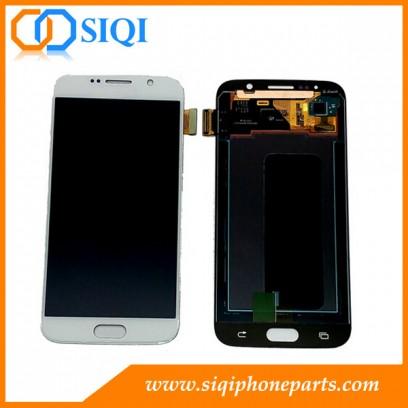 بديل لشاشة Samsung S6 LCD ، وشاشة Galaxy S6 ، وشاشة بيضاء لشاشة Samsung S6 ، وشاشة LCD لـ S6 ، وإصلاح شاشة Samsung S6