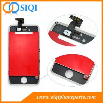 Ecran de remplacement pour iphone 4s, remplace l'écran pour iphone 4s, écran blanc pour iphone 4s, remplace l'écran pour iphone 4s, remplacement LCD pour iphone 4