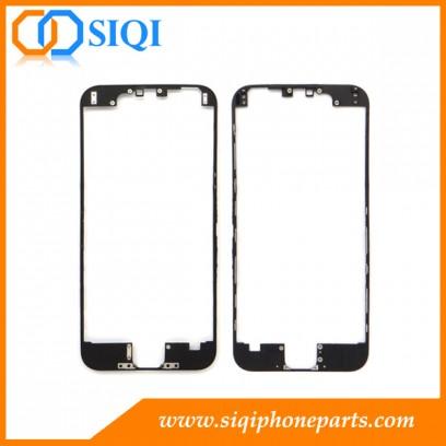 iphone 6のための黒いフレーム、携帯電話のアルミニウムフレーム、iphone 6のためのフレーム、iphone 6のためのlcdフレーム、iphone 6フレームのための取り替え