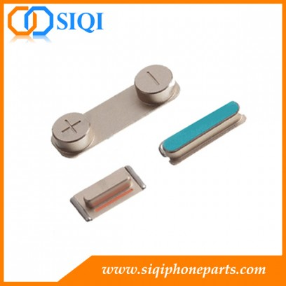 5s iphone botón lateral, 5s iphone interruptor de silencio, 5s iphone en botón de apagado, iphone 5 s botones laterales, interruptor de volumen iphone