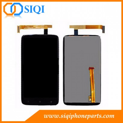 For HTC One X LCD replacement, supplier for HTC One X screen, LCD display for HTC One X, repair screen for HTC One X, LCD digitizer for HTC One X