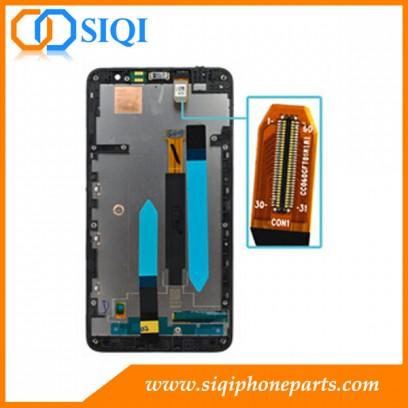 Pour les écrans Nokia Lumia 1320, réparation pour écran LCD Nokia 1320, écran Nokia 1320 de qualité AAA, remplacement de l'écran LCD pour Nokia Lumia 1320, Écran LCD avec cadre Lumia 1320