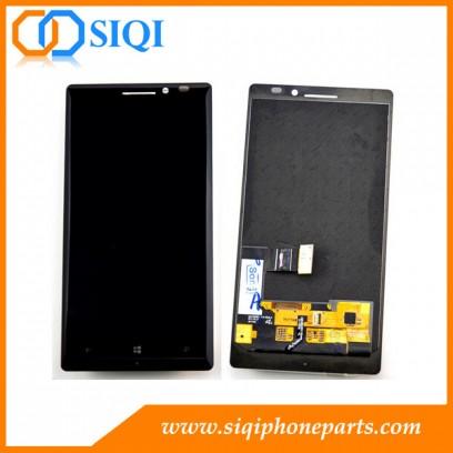 Pantalla para Nokia Lumia 930, piezas de repuesto para Nokia 930 LCD, el reemplazo del LCD para el Lumia 930, un digitalizador LCD para Nokia 930, Nokia 930 LCD de China
