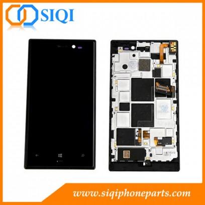شاشة LCD الأصلية لميا 928, نوكيا Lumia 928 شاشة, LCD نوكيا Lumia 928, وحدات شاشات الكريستال السائل نوكيا Lumia 928, نوكيا Lumia 928 LCD مع الإطار